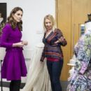 The Duchess Of Cambridge Visits The Royal Opera House - 454 x 303