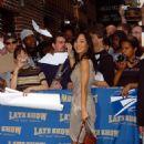 Yunjin Kim - Visiting David Letterman In 2006