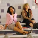 Deepti Daryanani as Maya and Mae Whitman as Taylor Rockefeller in Lifetime Television 'Acceptance.'