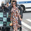 Debi Mazar – Promotes TV series 'Younger' at AOL Build Series in NY - 454 x 574