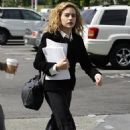 Brittany Murphy - On Her Way To A Business Meeting - 02/24/09