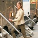 Ashley Greene On Set Of Urge In Nyc