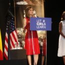 MIchelle Obama and Queen Letizia of Spain Attend 'Lets Girls Learn' - 454 x 304