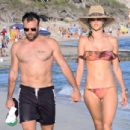 Alessandra Ambrosio and Jamie Mazur on a Beach in Ibiza 7/2/2016 - 454 x 434