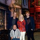 Tom Felton, Rupert Grint, and Evanna Lynch attended a photo call and press conference for the opening of Warner Bros. Studio Tour London – The Making Of Harry Potter at Leavesden Studios, March 29 - 430 x 594