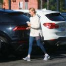 Diane Kruger – Out with her baby at a park in Los Angeles - 454 x 303