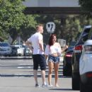 Ariel Winter in Denim Shorts out in Beverly Hills - 454 x 563
