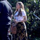 Sofia Vergara – On the set of 'Modern Family' in Brentwood