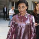 Amandla Stenberg – Leaving the Maison Valentino Fall 2019 Show in Paris
