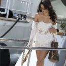 Shanina Shaik Leaving A Yacht In Cannes