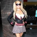 Paris Hilton – Demi Lovato's Halloween Party at Hyde in Hollywood