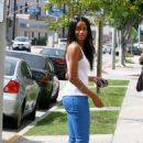 Ciara Harris - Shops On Robertson In Beverly Hills, 28. 8. 2009.