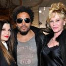 Loree Rodkin, Lenny Kravitz, and Melanie Griffith - 454 x 256