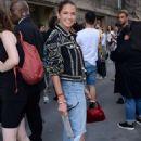 Helena Bordon – Elie Saab Haute Couture Show 2019 in Paris - 454 x 681