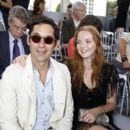 Lily Cole And Enrique Murciano - Christian Dior Paris Fashion Show F/W On July 5, 2010 - 400 x 600