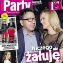 Monika Richardson, Zbigniew Zamachowski, Anna Dereszowska - Party Magazine Cover [Poland] (2 April 2013)