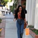 Vanessa Hudgens – Leaving a skin care clinic in West Hollywood