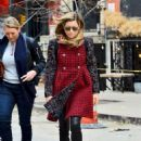 Jessica Biel – Leaves The Smile in NYC