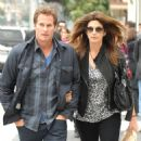 CINDY CRAWFORD AND RANDE GERBER in Beverly Hills - 15 February 2011