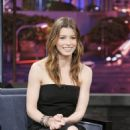 Jessica Biel - The Tonight Show with Jay Leno , 3 February 2010