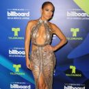 Jennifer Lopez after show at Billboard Latin Music Awards in Miami