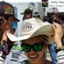 Nicky Hayden and Jackie Marin - 454 x 286