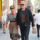 Salma Hayek and Francois-Henri Pinault are spotted out at a doctors office in Beverly Hills, California on August 29, 2016 - 426 x 600