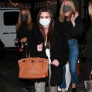 Kyle Richards and Lisa Vanderpump – Seen at SHU Sushi House Unico in Bel Air