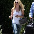 LeAnn Rimes - Leaving Her House To Go To LAX Airport, 2009-07-23