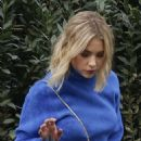 Ashley Benson – Out of her hotel in Paris
