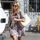 Ashley Tisdale: Leaving a studio in Burbank