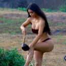 Kim Kardashian in Bikini – Photoshoot in Bali