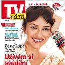 Penélope Cruz - TV Mini Magazine Cover [Czech Republic] (1 June 2013)