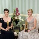 Rachel Weisz and Reese Witherspoon At The 78th Annual Academy Awards (2006) - Press Room - 454 x 303
