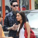 Brenda Song and Trace Cyrus in LA June 2013 - 454 x 605