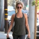 Ashley Tisdale seen leaving a pilates class in Los Angeles, California on March 23, 2015