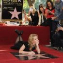 Cheryl Hines honored with star on the Hollywood Walk of Fame. Hollywood, CA..January 29, 2014