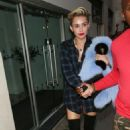 Miley Cyrus leaving a studio in London (September 10)