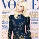 Aline Weber - Vogue Magazine Cover [Mexico] (November 2012)