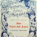 The Cure for Love - Theatre Programme (1945) - 454 x 691