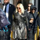 Christina Aguilera – Arrives at Jimmy Kimmel Live in Hollywood - 454 x 682