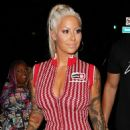 Amber Rose – Arriving at the Argyle club in Hollywood