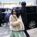 Vanessa Hudgens – Arriving at Good Morning America in New York