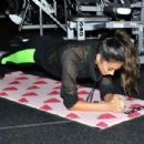 Shay Mitchell hit the SoFit gym at the Sofitel in Los Angeles - 454 x 303
