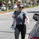 Ashley Greene – Leaving the gym in Studio City