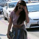 Selena Gomez going to a Sound Studio September 12, 2014
