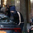 Rachael Taylor – Filming 'Jessica Jones' in New York City - 454 x 303