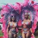 Blac Chyna and Amber Rose Celebrating Carinival in Trinidad and Tobago - February 9, 2016