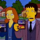 Gillian Anderson and David Duchovny - The Simpsons - 454 x 340