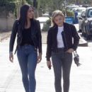Chloe Moretz in Jeans – Out with a friend in LA - 454 x 563
